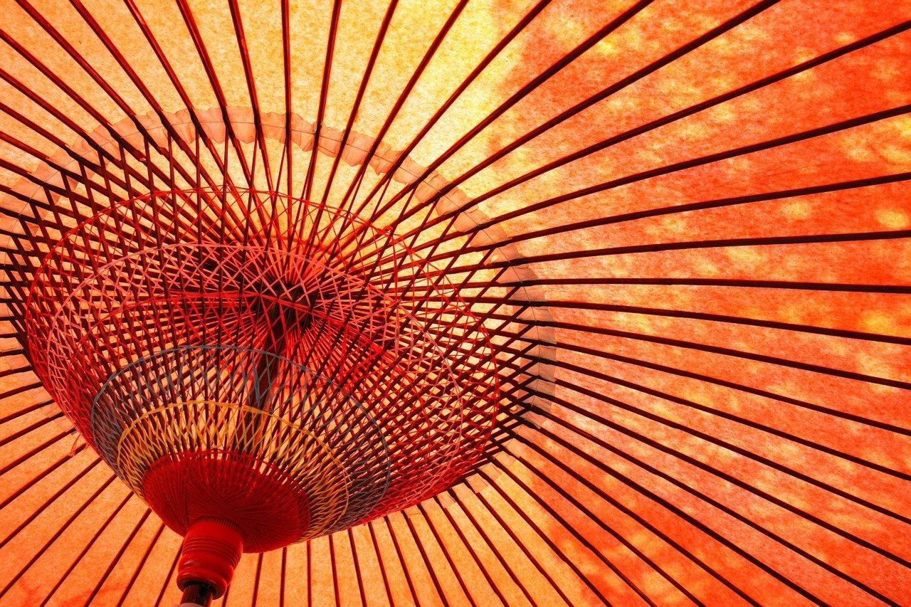 umbrella, oilpaper, kyoto